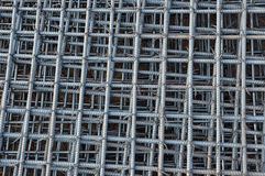 Steel bars reinforcement on construction site Royalty Free Stock Photos