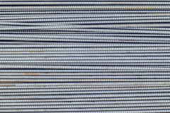 Steel bars. Rusty steel bars construction materials royalty free stock photo
