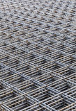 Steel Bars Stacked For Construction Stock Photo