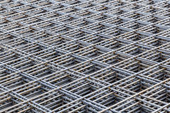 Steel Bars Stacked For Construction