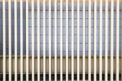Steel battens design decorate prominent Stock Photo