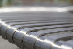 Steel beam close Stock Photos