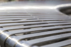Steel beam close Stock Photo