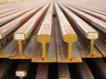 Steel beams Stock Photos
