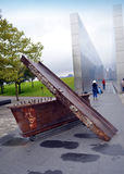 Steel Beams Empty Sky Memorial New Jersey Royalty Free Stock Image