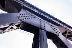 Steel beams Royalty Free Stock Photos