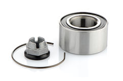 Steel bearing to the vehicle Stock Image
