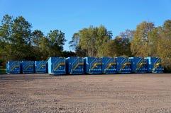 Steel Bilevel Tanks Stock Photography