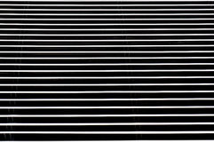 Steel black and white stripes Royalty Free Stock Images