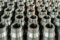 Steel blanks for drill pipe Royalty Free Stock Images
