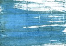 Steel blue abstract watercolor background. Hand-drawn abstract watercolor. Used colors: White, Steel blue, Teal blue, Carolina blue, Celestial blue, Air Force Stock Photos