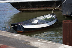 Steel boat Stock Photography