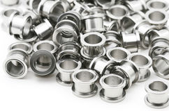 Steel Body Jewelry Stock Photo