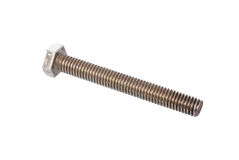 Steel bolt Stock Images