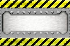 Steel border Royalty Free Stock Photos