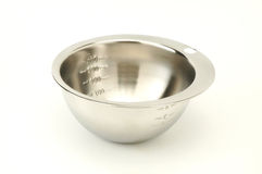 Steel bowl Royalty Free Stock Photo