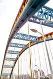 Steel bridge Stock Photo