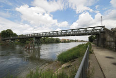 Steel bridge Stock Images