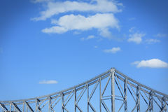 Steel bridge Royalty Free Stock Images