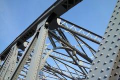 Steel bridge Stock Image