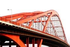 The steel bridge Stock Image