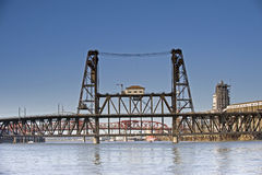 Steel Bridge Stock Photography