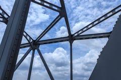 Steel bridge. Stock Photography