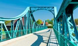 Steel Bridge Royalty Free Stock Photo