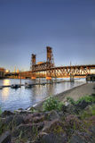 Steel Bridge Portland Oregon 4 Royalty Free Stock Photography
