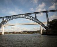 Steel bridge porto Royalty Free Stock Image