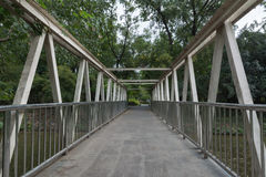 The steel bridge Royalty Free Stock Photo