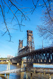 Steel Bridge Vertical Stock Photos