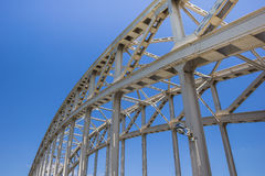 Steel bridge Royalty Free Stock Images