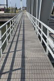 Steel bridge for walker Stock Images