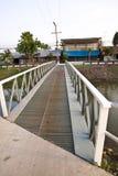 Steel bridges stock photo