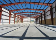 Steel building Royalty Free Stock Photography