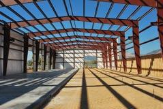 Steel building Stock Image