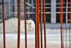 Steel building armature Stock Photo