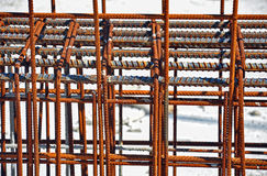 Steel building armature Royalty Free Stock Photo