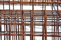 Steel building armature Royalty Free Stock Photos