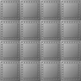 Steel bullet-proof lining - vector texture Royalty Free Stock Images