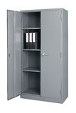 Steel cabinet furniture Royalty Free Stock Image