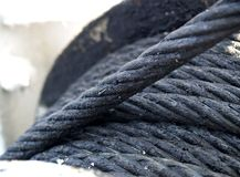 Steel cable Royalty Free Stock Images