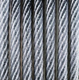 Steel cable. From laptop lock Stock Image
