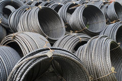 Steel cable Stock Photos