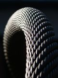 Steel cable. A piece of a cable-car steel cable Stock Photo