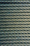 Steel cable abstract Royalty Free Stock Image