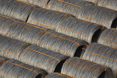 Steel Cable Background Stock Images