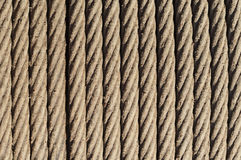 Steel cable background. Rusty steel cable background. Construction material ready for use Stock Image