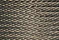 Steel Cable Roll. Construction material ready for use Stock Photos